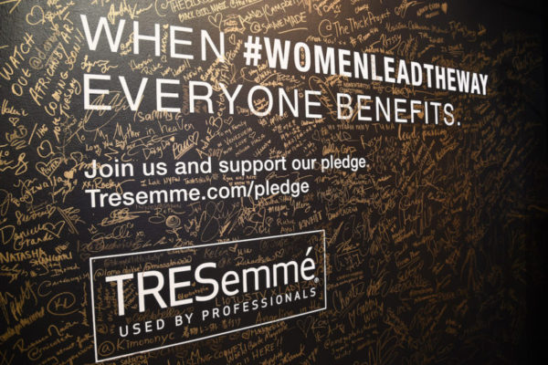 TRESemmé Launches #WomenLeadTheWay Campaign