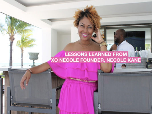 What XO Necole's Founder Taught Me About Faith, Fortitude and Failure